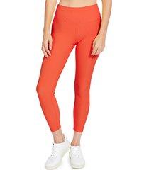 sage collective women's kate high-waist leggings - bone - size l