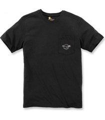 carhartt t-shirt men maddock strong graphic s/s black-xl