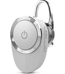 audífonos bluetooth, lu-03mb nuevo deportivos inalámbrico estereo hd de 4,1 audifonos bluetooth manos libres construir-en mic con ear-gancho para sony iphone samsung (plata)