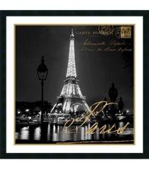 amanti art paris at night framed art print