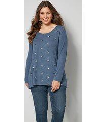 shirt sara lindholm blauw