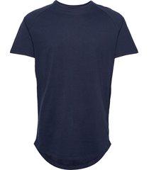 jjecurved tee ss o-neck noos t-shirts short-sleeved blå jack & j s