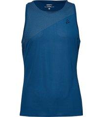 nanoweight singlet m t-shirts sleeveless blå craft