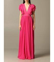 just cavalli dress long just cavalli dress with ruffles