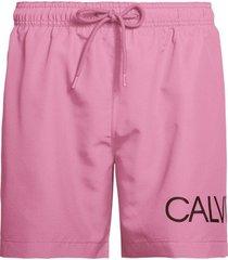 calvin klein heren zwembroek drawstring - roze