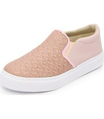 sapatênis feminino top franca shoes iate rosa