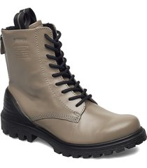 tredtray w shoes boots ankle boots ankle boot - flat grå ecco