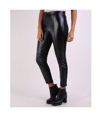 calça legging feminina cintura alta preta