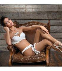 ambra lingerie platinum strapless bh ivoor