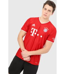 camiseta rojo-blanco adidas performance local fc bayern