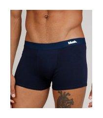 cueca masculina mash boxer azul marinho