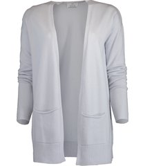 long cashmere cardigan