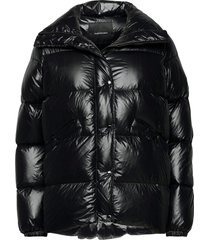 w clara jacket the alpine fodrad jacka svart peak performance