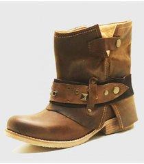 botin  amalia camel amano shoes