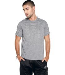 camiseta gris reebok osr reflect move tee