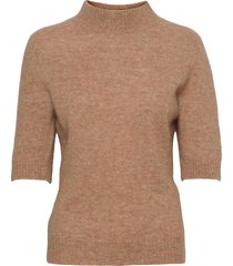 puff knit tee t-shirts & tops knitted t-shirts/tops beige holzweiler