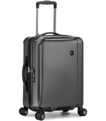 "traveler's choice halow 21"" polycarbonate spinner suitcase"