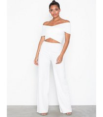 nly one cross shoulder jumpsuit jumpsuits