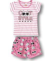 pijama marisol - 10316213i rosa