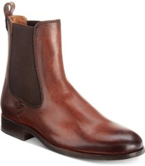frye melissa chelsea leather booties women's shoes
