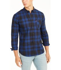 levi's men's chama plaid shirt