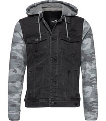 denim jacket jeansjacka denimjacka svart hollister