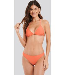 na-kd swimwear bikini panty - orange