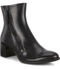 ecco women's shape 35 block side-zip booties women's shoes