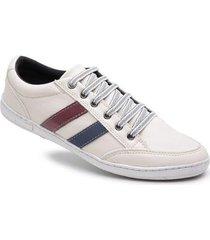tênis sapatênis casual detalhe doc shoes masculino - masculino