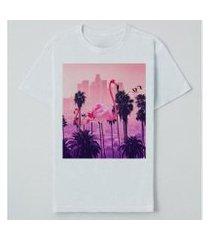camiseta reserva lnk los flamingos masculina
