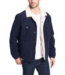 levi's men's fleece-lined corduroy trucker jacket