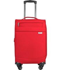 maleta de viaje tipo cabina naples  rojo - explora