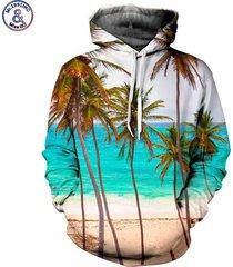2017 new fashion brand sweatshirt men/women hoodies hooded 3d print coconut tre