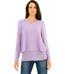 shirt amy vermont lila