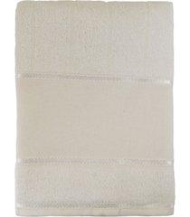 toalha appel de banho avulsa p/ bordar - bordare bege