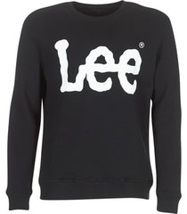 sweater lee logo sweatshirt
