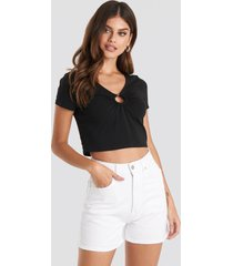 beyyoglu mom shorts - white