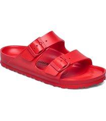 arizona eva shoes summer shoes flat sandals röd birkenstock