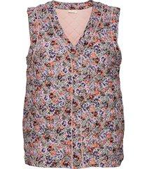 nucitrine waistcoat vests knitted vests multi/mönstrad nümph