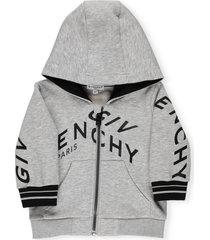 givenchy cotton sweatshirt with hood