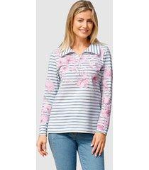 sweatshirt basically you wit::jeansblauw