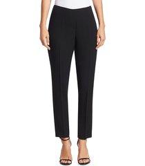 elie tahari women's marcia crepe pants - stargazer - size 6