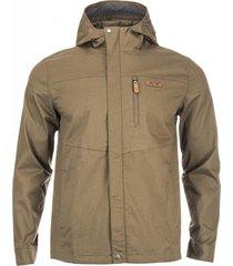 chaqueta arce hoody jacket café pardo lippi