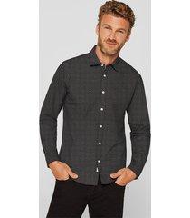camisa con lunares negro esprit