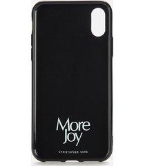 more joy women's more joy iphone x case - black