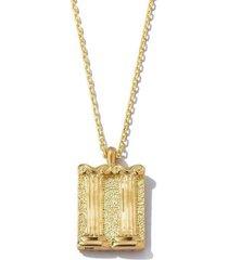 diamond gemini zodiac pendant necklace