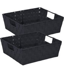 simplify 2 pack storage shelf tote