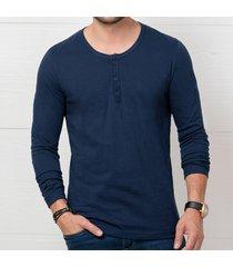 camibuzo tiago azul para hombre croydon