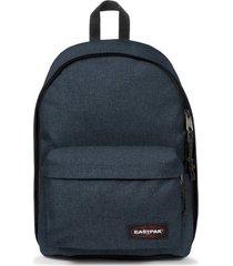 eastpak out of office ek767 backpack unisex adult and guys denim