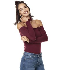 blusa body vinotinto chocker